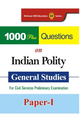 1000 Plus Questions on Indian Polity: General Studies for Civil Services Preliminary Examination (Paper - 1) 1st  Edition price comparison at Flipkart, Amazon, Crossword, Uread, Bookadda, Landmark, Homeshop18