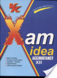 Xam Idea Accountancy For Class 12: Cbse