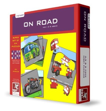 Toy Kraft Super Set Of Six - On Road