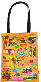 Eco Corner Big Coloured Pune Cotton Bag
