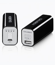 Dausen Power Bank 2600mAh - Black