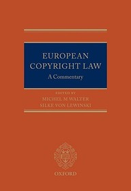 European Copyright Law A Commentary