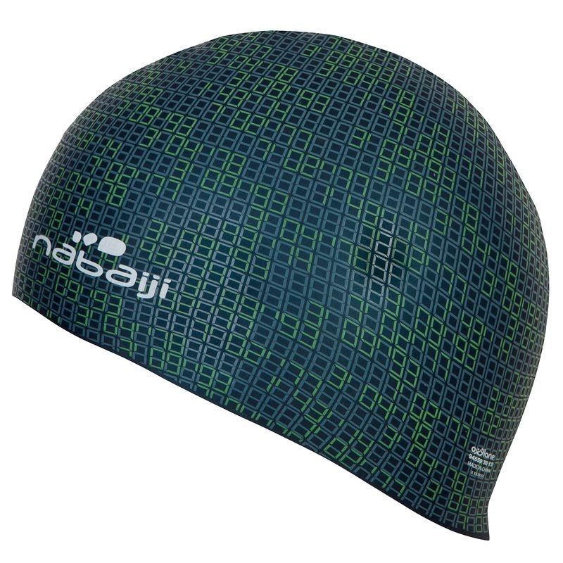 Swimming Headgear (Green) - Nabaiji Silicone Caps