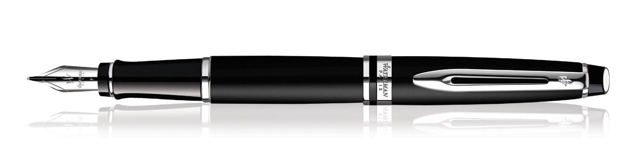 Waterman Expert Matte Black CT Fountain Pen (Fine Nib)