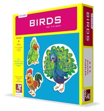 Toy Kraft Head and Tail - Birds