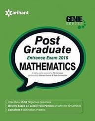 Mathematics Post Graduate Entrance Exam 2016 :     Genie Series Code 1554