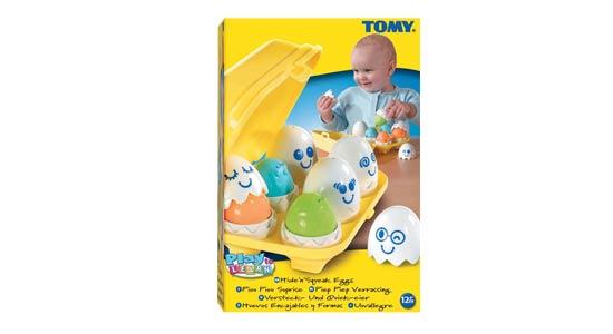 Funskool Tomy Hide N Squeak Eggs