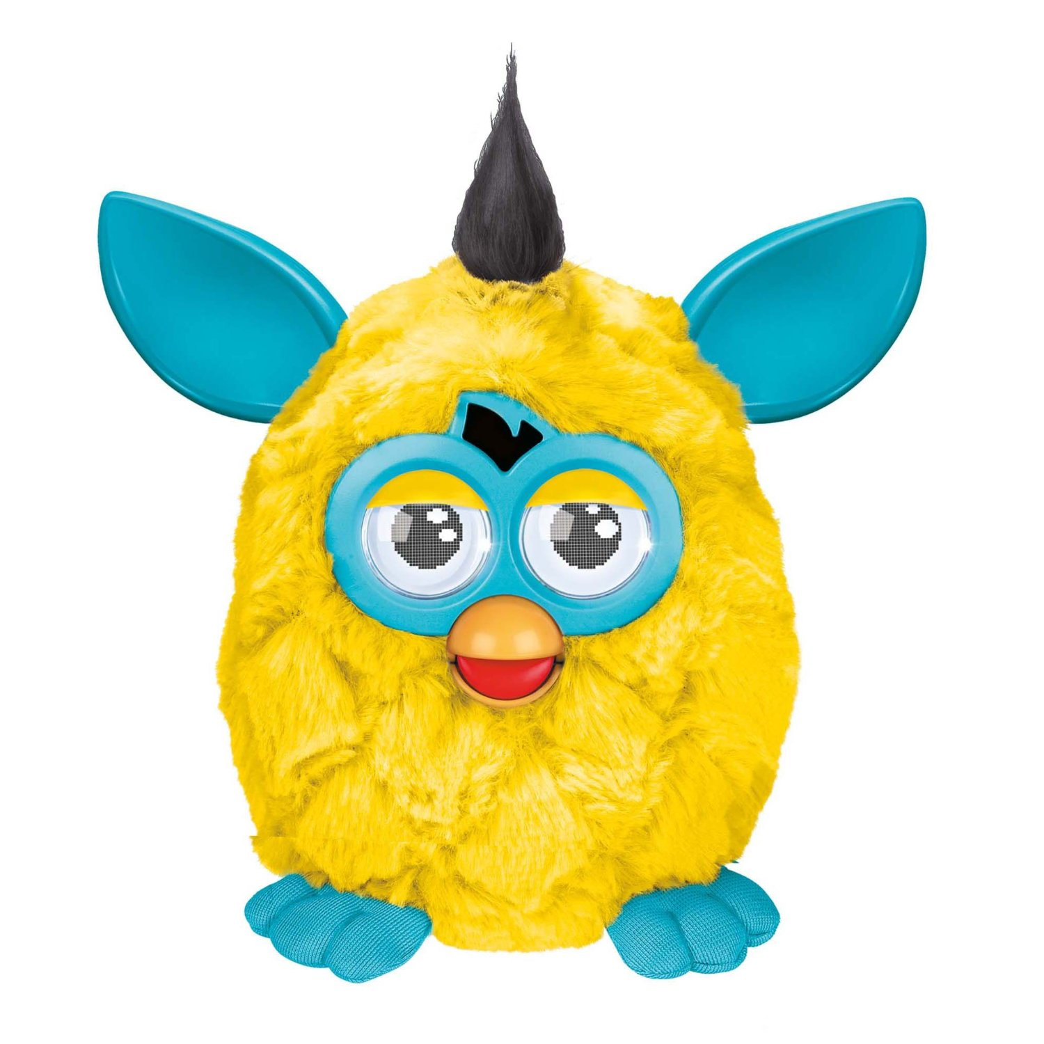 Furby Yellow and Teal