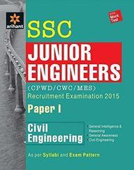 Ssc Junior Engineers Recruitment Examination 2015 Paper 1 Civil Engineering With Mock Test : Code