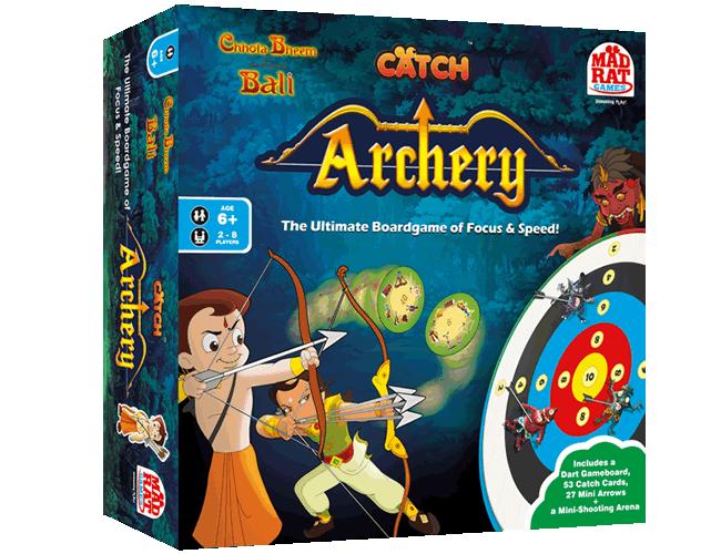 Chhota Bheem Catch Archery