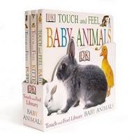 Touch And Feel Baby Animals Library