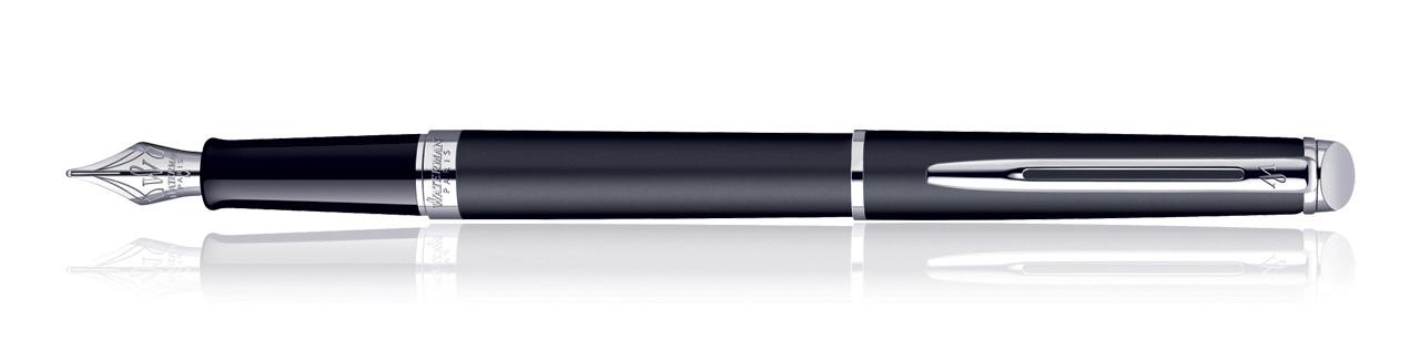 Waterman Hemisphere Matt Black CT Fountain Pen (Medium Nib)