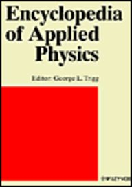 Nuclear Waste Management to Optics, Underwater, Volume 12, Encyclopedia of Applied Physics