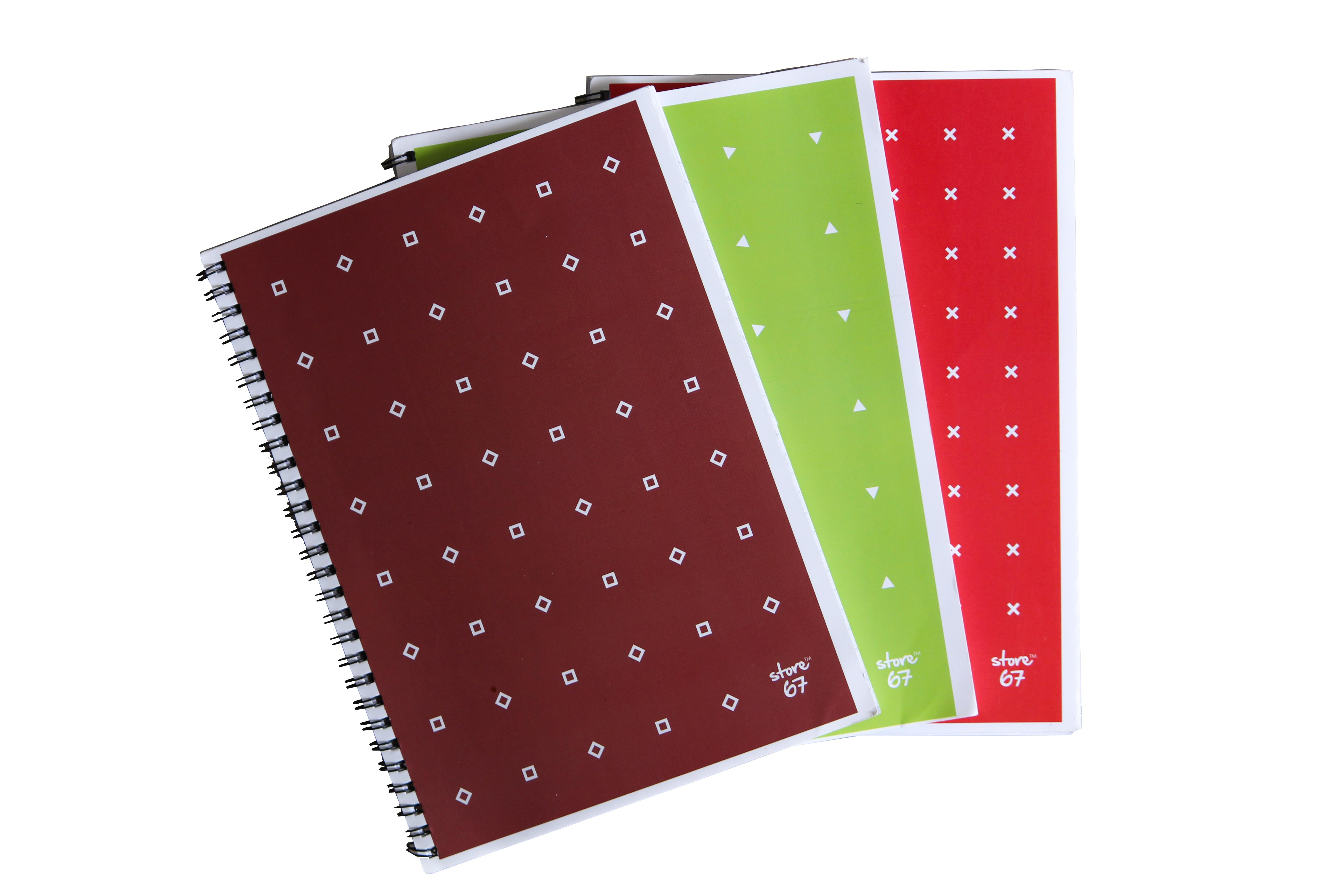 Store67 Note Pad  A5 Single Ruled (180 Pages)