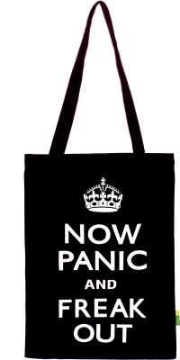 Eco Corner Now Panic Cotton Bag