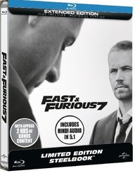 Fast and Furious 7 (Limited Edition Steelbook)
