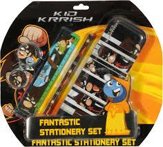 Kid Krrish Fantastic Stationery Set