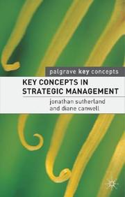 Key Concepts In Strategic Management (Palgrave Key Concepts)