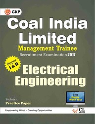 Coal India Limited Management Trainee Electrical Engineering 2017 price comparison at Flipkart, Amazon, Crossword, Uread, Bookadda, Landmark, Homeshop18