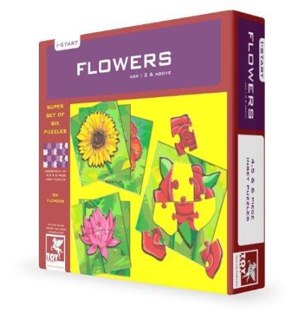 Toy Kraft Super Set Of Six - Flowers