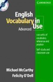 English Vocabulary In Use Advanced W/Cd