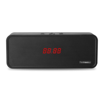 Sublime BT Speaker With FM (Black)
