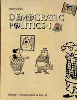 972 Social Science Democratic Politics 1 Text Book In Political Science For Class 9th - Ncert