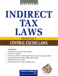Indirect Tax Laws in 3 parts