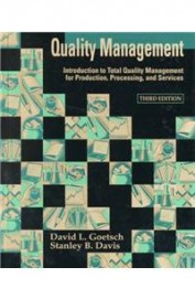 Quality Management Introduction To Total Quality   Management For Production Processing And Servi