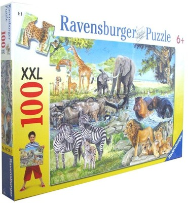 Ravensburger 100 Pcs Puzzle - African Afternoon