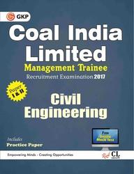 Coal India Limited Management Trainee Civil Engineering 2017 price comparison at Flipkart, Amazon, Crossword, Uread, Bookadda, Landmark, Homeshop18