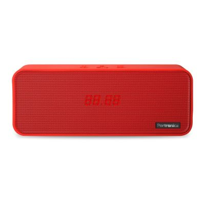 Sublime BT Speaker With FM (Red)