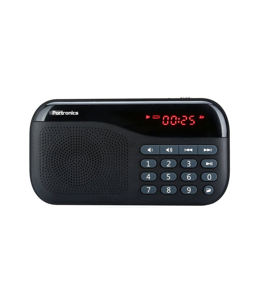Portronics Plugs Portable Sound System With FM
