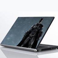 """Laptop Metallic Decals Batman Dark Knight 14"""""""