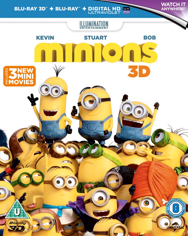 Minions 3D (Metal Collectors Edition)