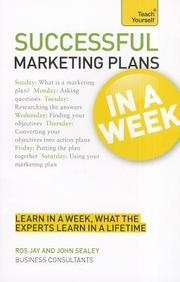 Successful Marketing Plans In A Week : Teach      Yourself