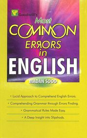 Most Common Earors In English