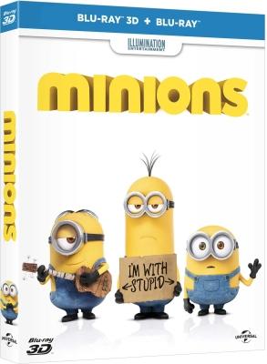 Minions (3D + 2D) 2 Disc Edition