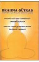 Brahmasutras(sanskrit Text,english Translation, Commentary And Notes By Sankaracarya) (2 Vol. Set)