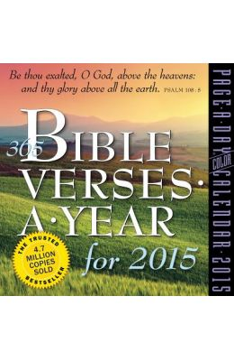365 Bible Verses a Year Page-A-Day Calendar