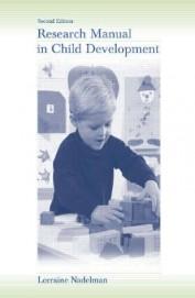 Research Manual In Child Development