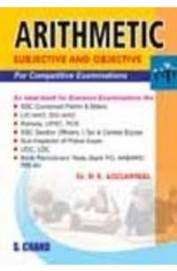 Arithmetic For Competitive Examinations 21nd Edition price comparison at Flipkart, Amazon, Crossword, Uread, Bookadda, Landmark, Homeshop18