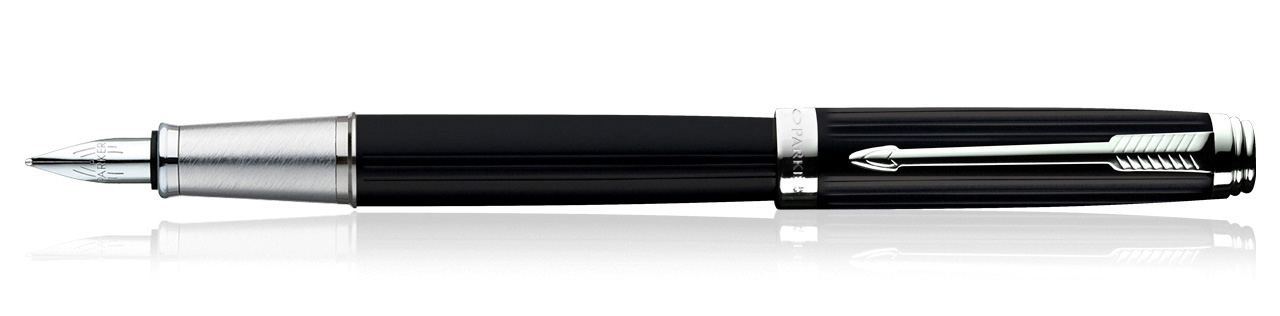 Parker Ambient Laque Black CT Fountain Pen (Fine Nib)