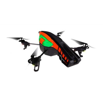 Parrot AR.Drone 2.0 Green with streamlined Outdoor Hull