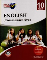 English Communicative Class 10: Support Books CBSE Set of 2 Books Term 1 and Term 2