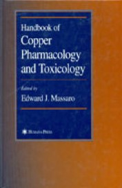 Handbook Of Copper Pharmacology & Toxicology