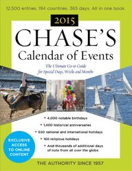 Chase's Calendar of Events 2015