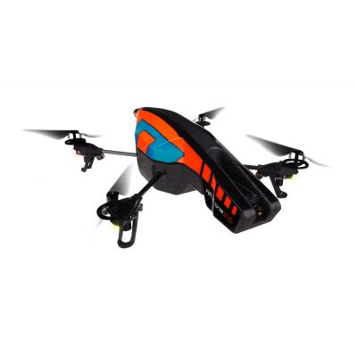 Parrot AR.Drone 2.0 Blue with streamlined Outdoor Hull