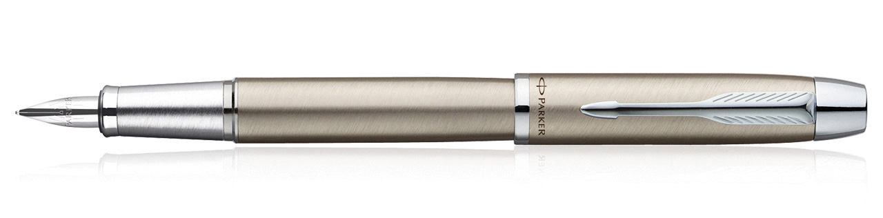 Parker IM Brushed Metal CT Fountain Pen (Fine Nib)
