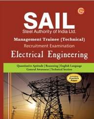 SAIL Steel Authority of India Limited Management Trainee Technical Recruitment Examination: Electrical Engineering (Including Practice Paper) price comparison at Flipkart, Amazon, Crossword, Uread, Bookadda, Landmark, Homeshop18